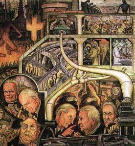 Diego Rivera, Industria Moderna