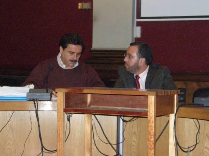Y durante el propio Seminario (por cortesía de Antonio Baylos)