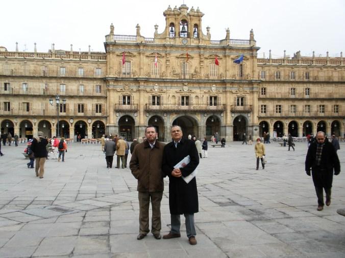 En Salamanca, durante los XII Cursos Internacionales de Especialización en Derecho de la USAL (enero de 2009)