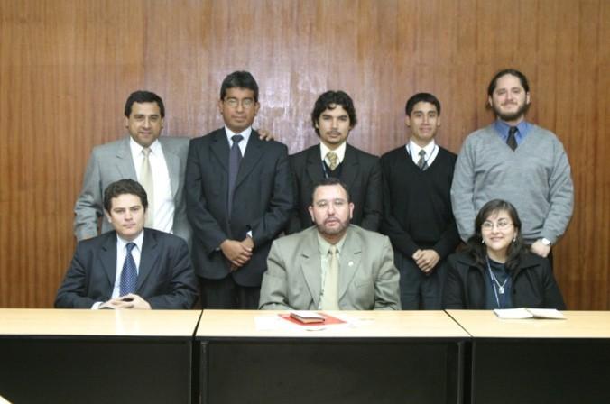 El Gabinete de Asesores del Ministro de Trabajo en pleno (julio de 2004)