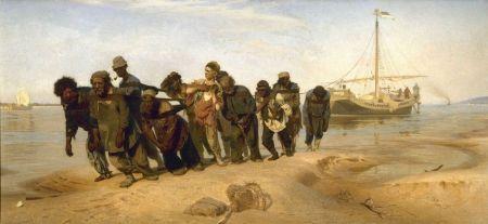 Ilya Repin, Barge-Haulers on te Volga - 1870-1873