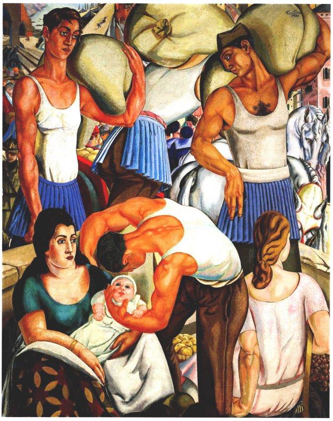 Alfredo Guttero, Cargadores ligures (1926)
