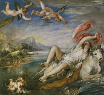 Rubens, El rapto de Europa