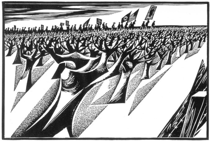 Richard V. Correl, Vineyard march, 1970