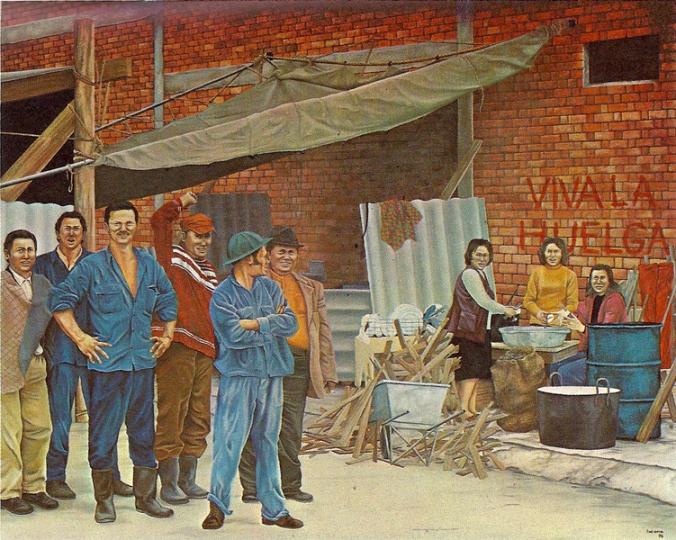 Cemencia Lucena, Huelga en Bogota, 1978