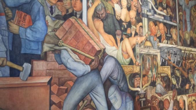 DIEFO-RIVERA- MURALES PALACIO NACIONAL - Detalle